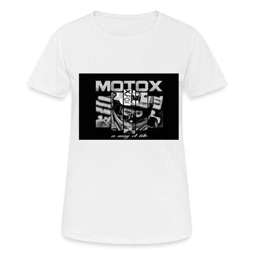 Motox a way of life - Vrouwen T-shirt ademend actief