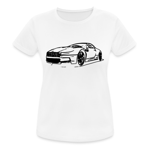 Aston Martin - Women's Breathable T-Shirt