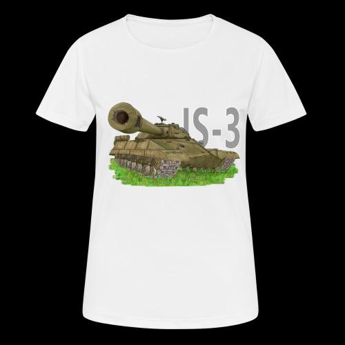 IS-3 (Writing) - Maglietta da donna traspirante