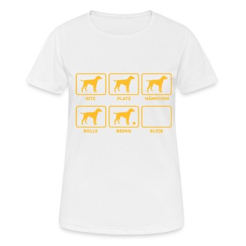 Für alle Hundebesitzer mit Humor - Frauen T-Shirt atmungsaktiv
