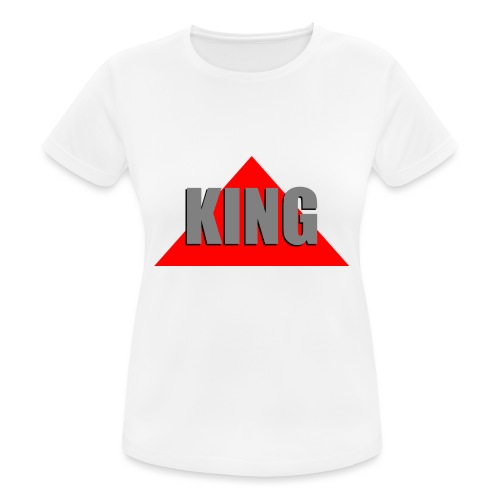 King, by SBDesigns - T-shirt respirant Femme