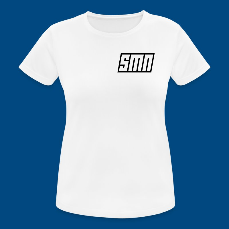 Sense Makes None Flat Logo - Women's Breathable T-Shirt