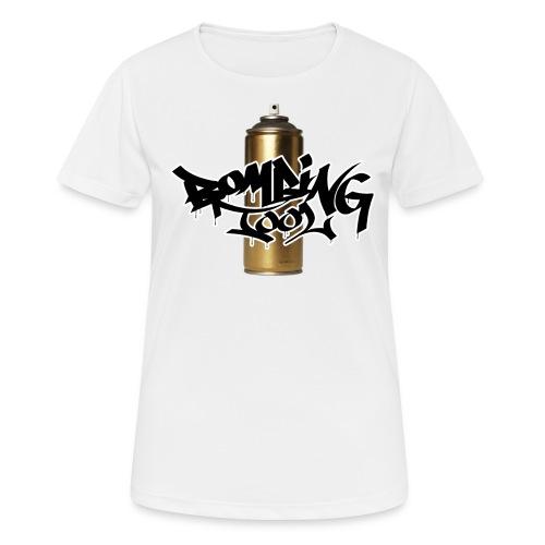 Golden Spray Can Bombing Tool - Frauen T-Shirt atmungsaktiv