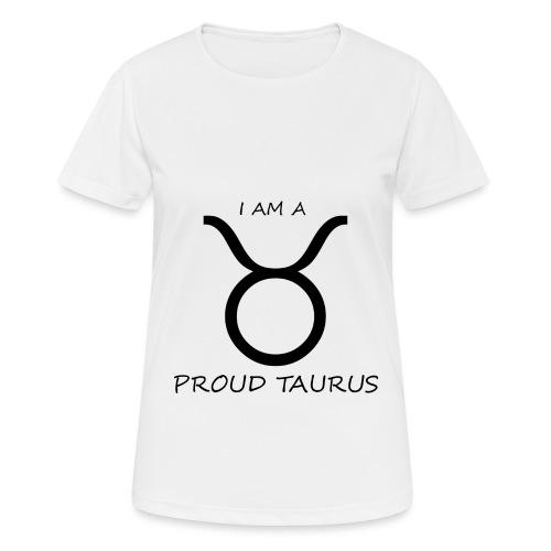 TAURUS - Women's Breathable T-Shirt