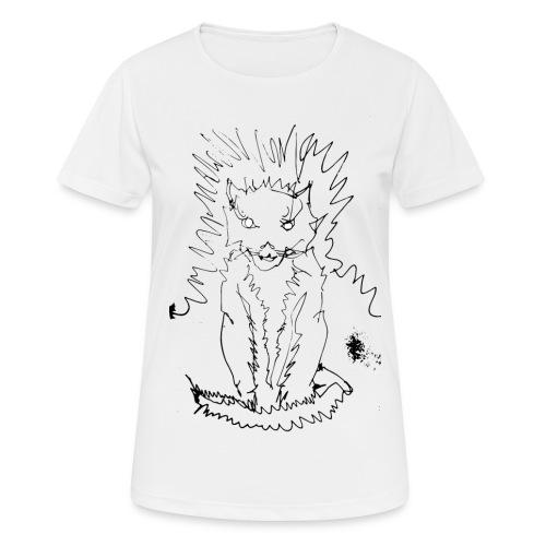 der graue Katzer - Frauen T-Shirt atmungsaktiv