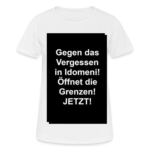 Gegen das Vergessen - Frauen T-Shirt atmungsaktiv