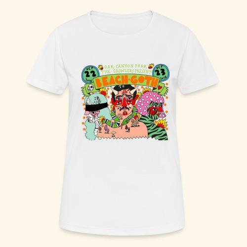 beach goth 2016 - T-shirt respirant Femme