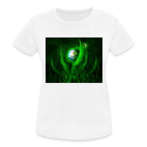 Cthulhu Rising - Frauen T-Shirt atmungsaktiv