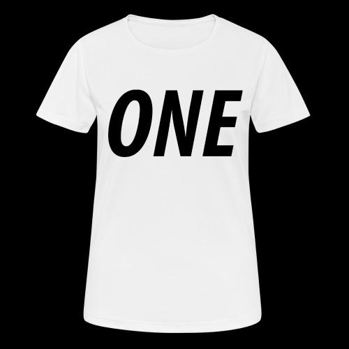WEAREONE x LETTERS - Vrouwen T-shirt ademend actief