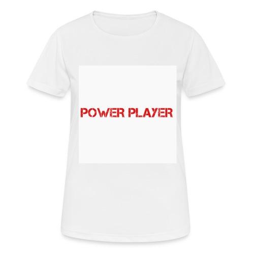 Linea power player - Maglietta da donna traspirante