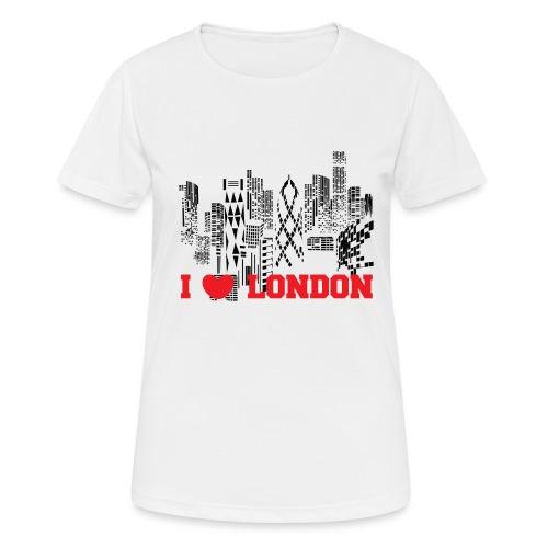I LOVE LONDON SKYCRAPERS - Camiseta mujer transpirable