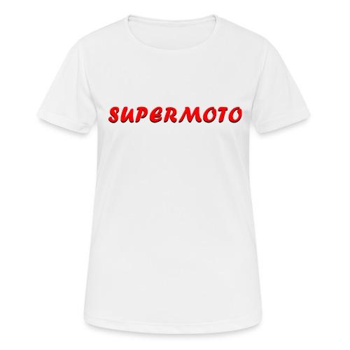SupermotoLuvan - Andningsaktiv T-shirt dam