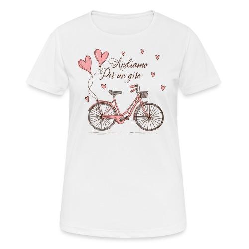 Andiamo per un giro - Women's Breathable T-Shirt