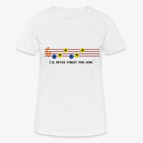 Ocarina Song - T-shirt respirant Femme