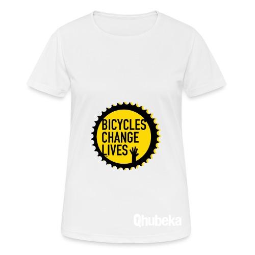 BCL Shirt Back White - Women's Breathable T-Shirt