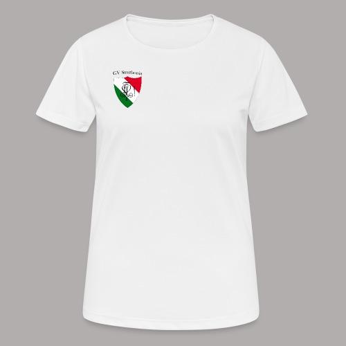 Wappen Struthonia (vorne) - Frauen T-Shirt atmungsaktiv