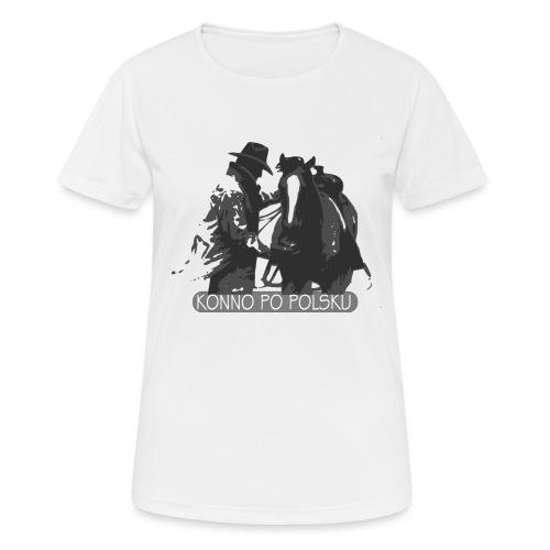 horse2 - Koszulka damska oddychająca