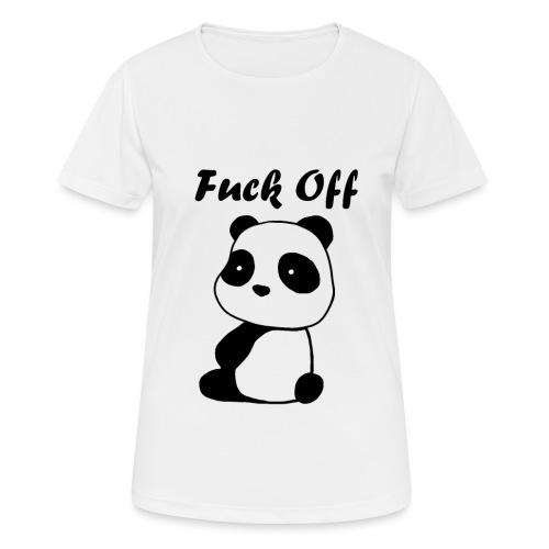 Mad Panda - Frauen T-Shirt atmungsaktiv