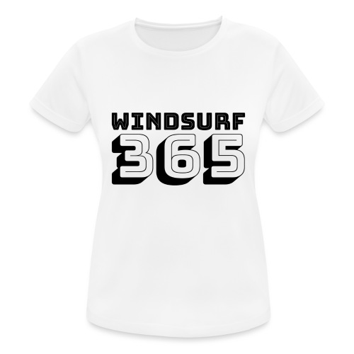 Windsurfing 365 - Women's Breathable T-Shirt