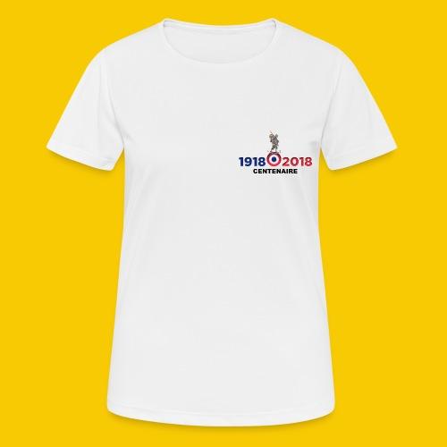 CENTENAIRE - T-shirt respirant Femme