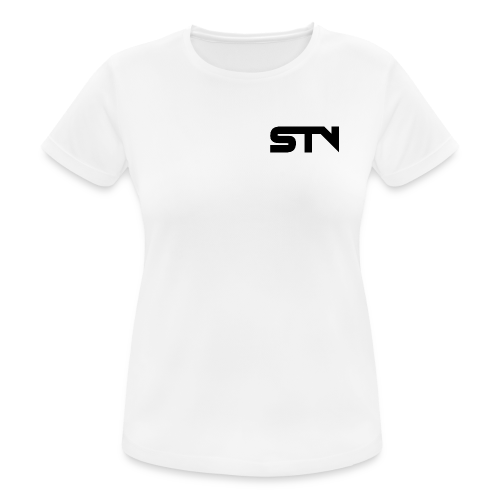 STV Logo Black - Women's Breathable T-Shirt