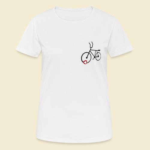Radball | Cycle Ball Polo black - Frauen T-Shirt atmungsaktiv