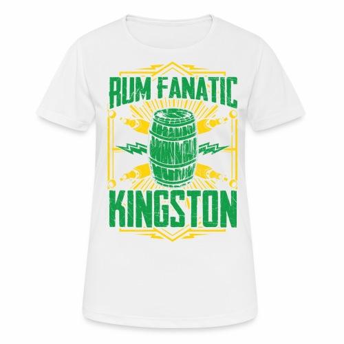 T-shirt Rum Fanatic - Kingston, Jamajka - Koszulka damska oddychająca