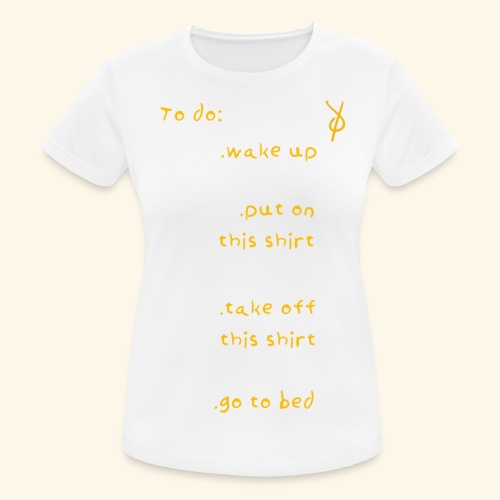 shieke to do-list - Women's Breathable T-Shirt