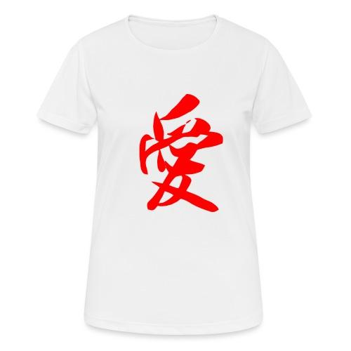 chine - T-shirt respirant Femme