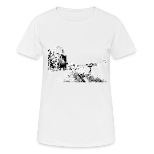 J'aime Mouleydier - Pont F - T-shirt respirant Femme