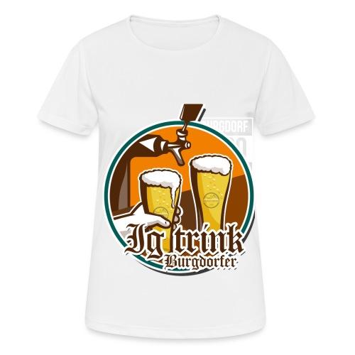 550 - Frauen T-Shirt atmungsaktiv