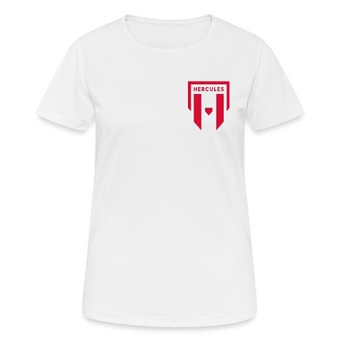 JS Hercules, new logo - naisten tekninen t-paita