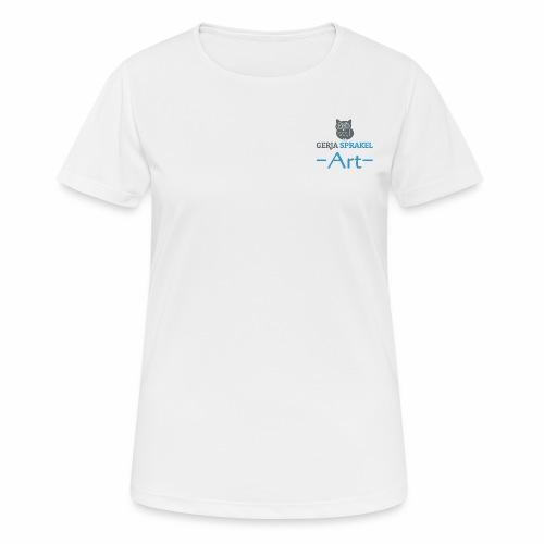 Gerja Sprakel Art - Vrouwen T-shirt ademend actief