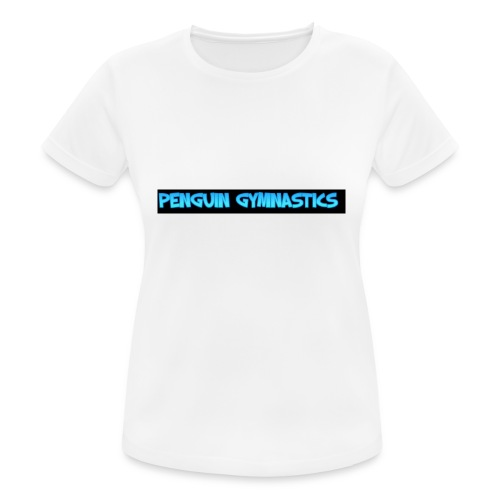 The penguin gymnastics - Women's Breathable T-Shirt