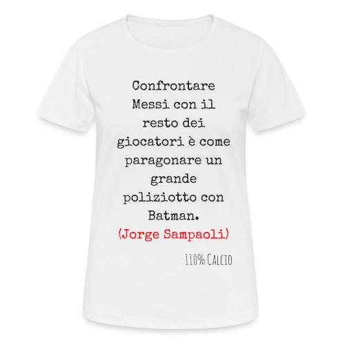 maglia 110 messi png - Maglietta da donna traspirante
