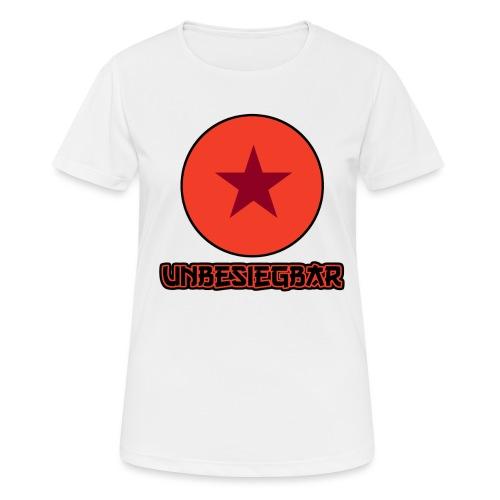 Unbesiegbar - Frauen T-Shirt atmungsaktiv