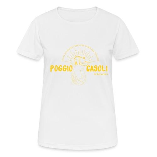 Poggio Casoli_Istituzionale_Giallo - Maglietta da donna traspirante