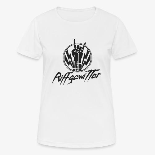 Riffgewitter - Hard Rock und Heavy Metal - Frauen T-Shirt atmungsaktiv