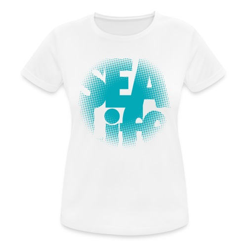 Sealife surfing tees, clothes and gifts FP24R01A - naisten tekninen t-paita