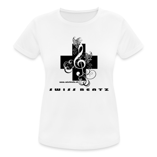Swiss Beatz Logo with L - Frauen T-Shirt atmungsaktiv