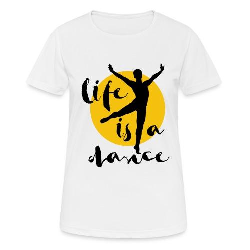 Ballett Tänzer - Frauen T-Shirt atmungsaktiv