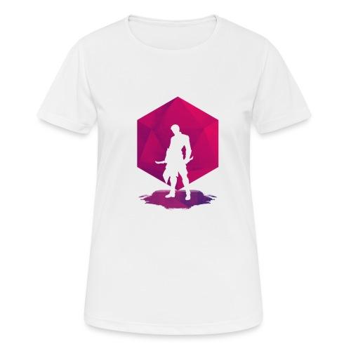 Assassin de l'Ombre - Donjons et Dragons d20 - T-shirt respirant Femme