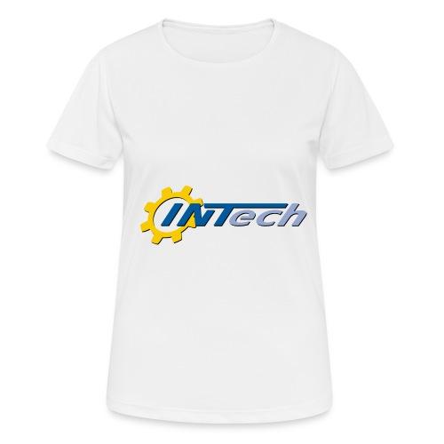 intech_logo - T-shirt respirant Femme