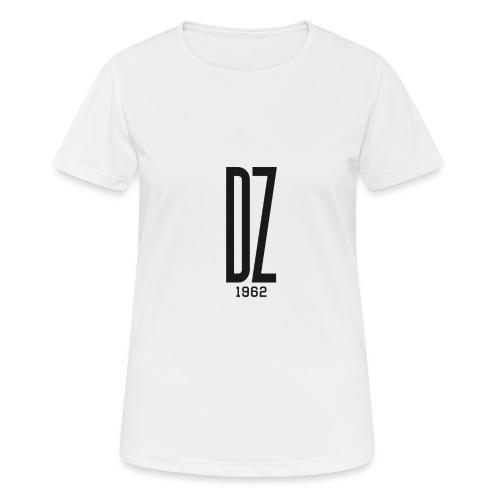 Logo transparent noir DZ 1962 - T-shirt respirant Femme