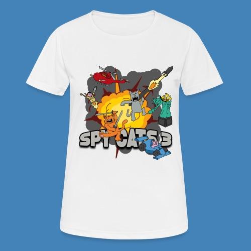 Spy Cats 3 - Vrouwen T-shirt ademend actief