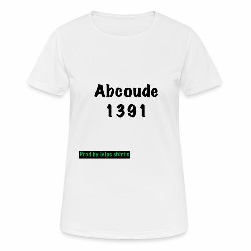 Abcoude post code merk - Vrouwen T-shirt ademend actief