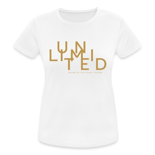 Unlimited gold - Women's Breathable T-Shirt