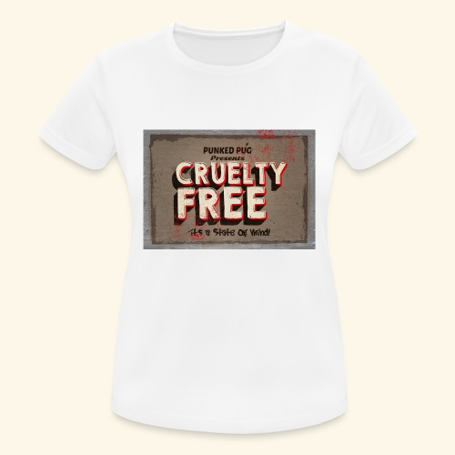 cruelty free - Women's Breathable T-Shirt