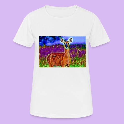 Cerbiatto con magici effetti - Maglietta da donna traspirante