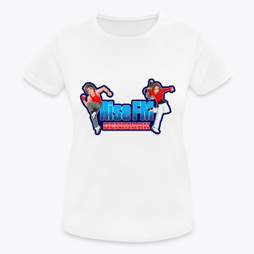 Rise FM Logo - Women's Breathable T-Shirt